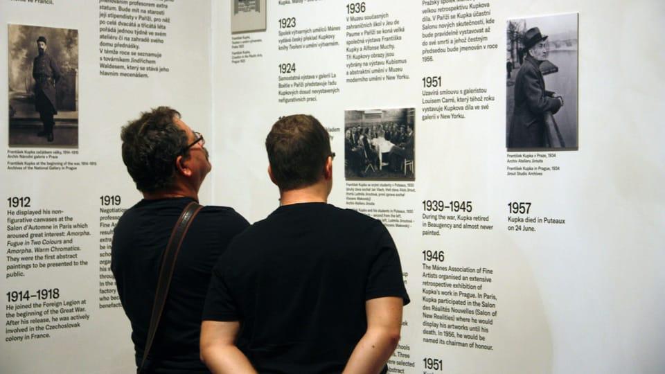 Kupka-Ausstellung  (Foto: Barbora Němcová)