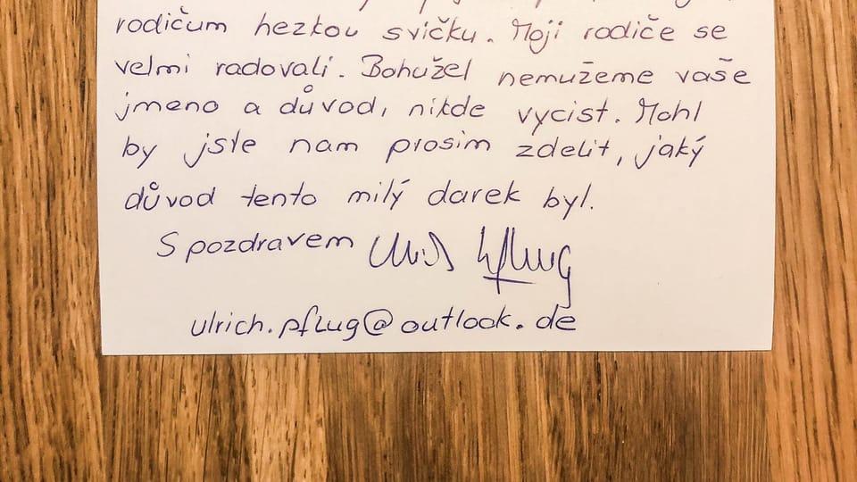 Das Geschenk | Foto: Archiv von Lukáš Houdek