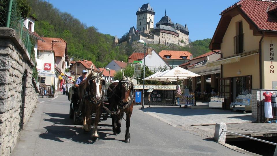 Burg Karlštejn / Karlstein  (Foto: Klára Stejskalová)