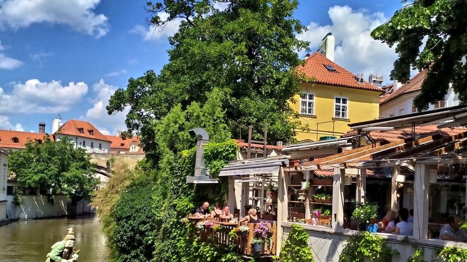 Restaurant Velkopřevorský mlýn / Großprior-Mühle am Teufelsbach  (Foto: Magdalena Hrozínková)
