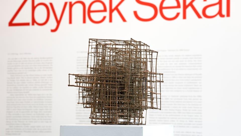 Zbyněk Sekal,  Kreuz,  nach 1975,  Privatsammlung  (Foto: Johannes Stoll / Belvedere,  Wien © Bildrecht Wien,  2020)