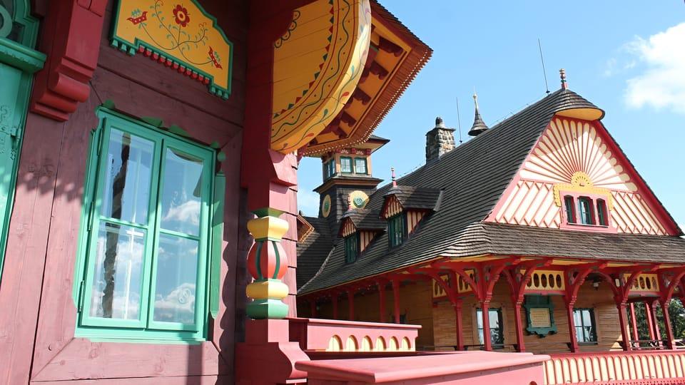Berghütte Libušín und Hotel Maměnka  (Foto: Ondřej Tomšů)
