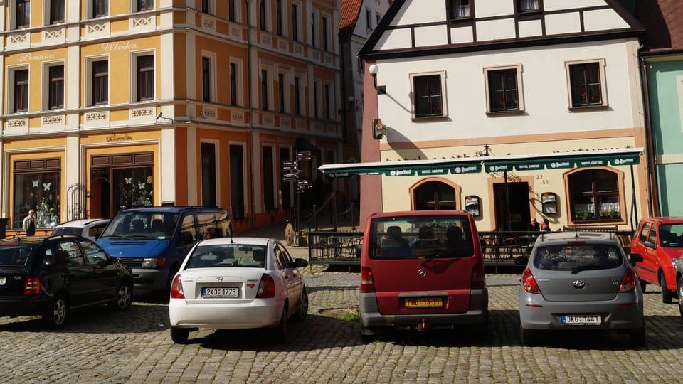 Marktplatz  (Foto: Archiv des Tschechischen Rundfunks - Radio Prague International)