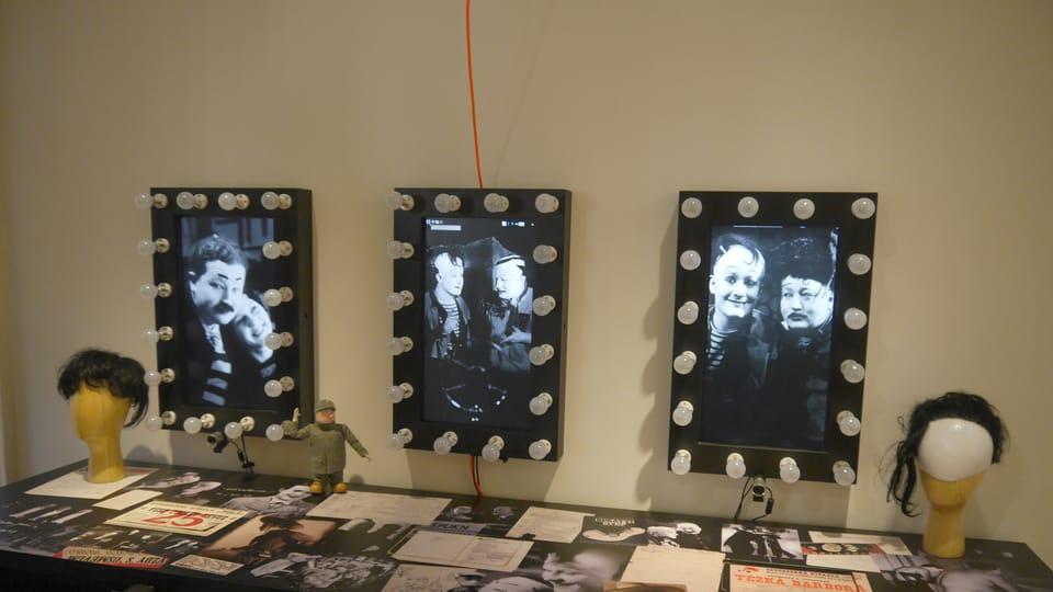 Ausstellung zum Befreiten Theater  (Foto: Magdalena Hrozínková)