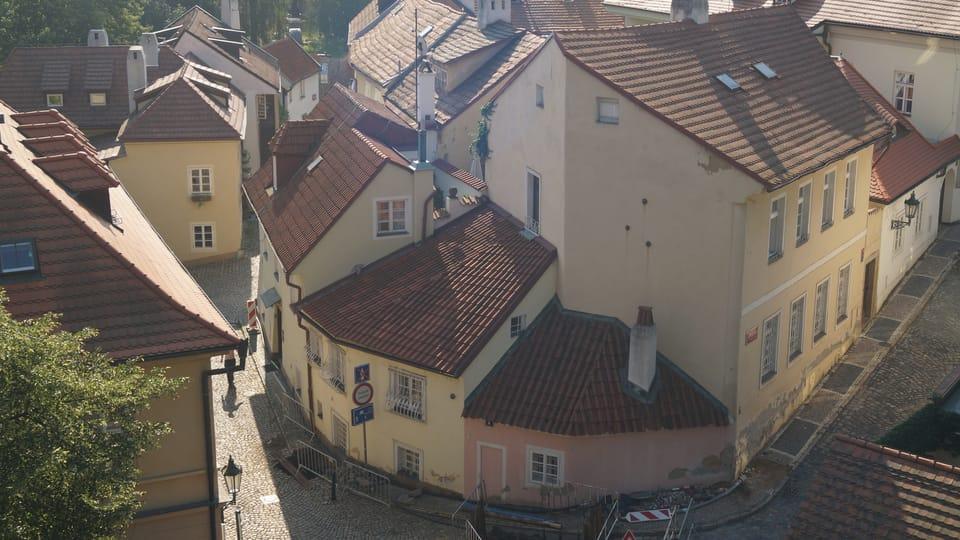 Neuwelt-Gasse  (links). Foto: Archiv des Tschechischen Rundfunks - Radio Prague International