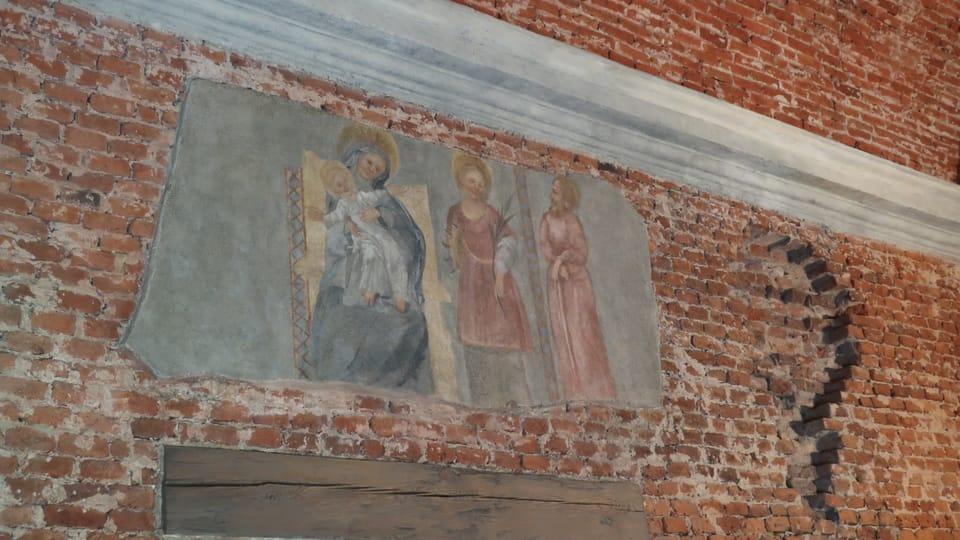 Fresken im Kloster Hájek | Foto: Martina Schneibergová,  Radio Prague International