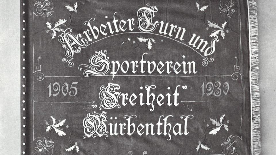 ATUS Fahne  (Foto: Archiv der Seliger-Gemeinde)