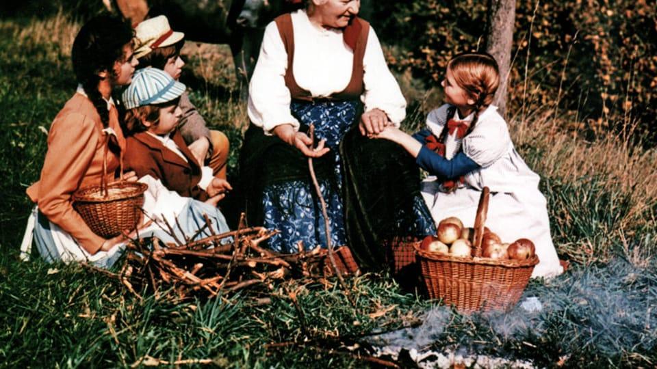 """Verfilmte Version des Romans """"Die Großmutter""""  (1971). Foto: Tschechisches Fernsehen"""