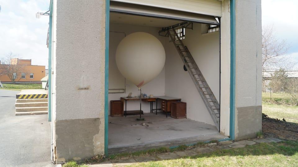 Ballongetragene Radiosonde  (Foto: Archiv des Tschechischen Rundfunks - Radio Prag)