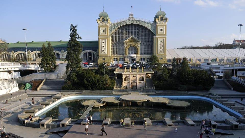 Industriepalast  (Foto: Filip Jandourek,  Archiv des Tschechischen Rundfunks)