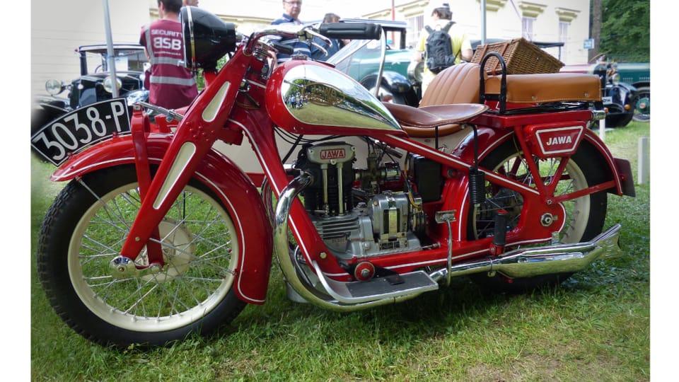 Motorrad Jawa 350 SV  (hergestellt seit 1934). Foto: Archiv des Tschechischen Rundfunks - Radio Prague International
