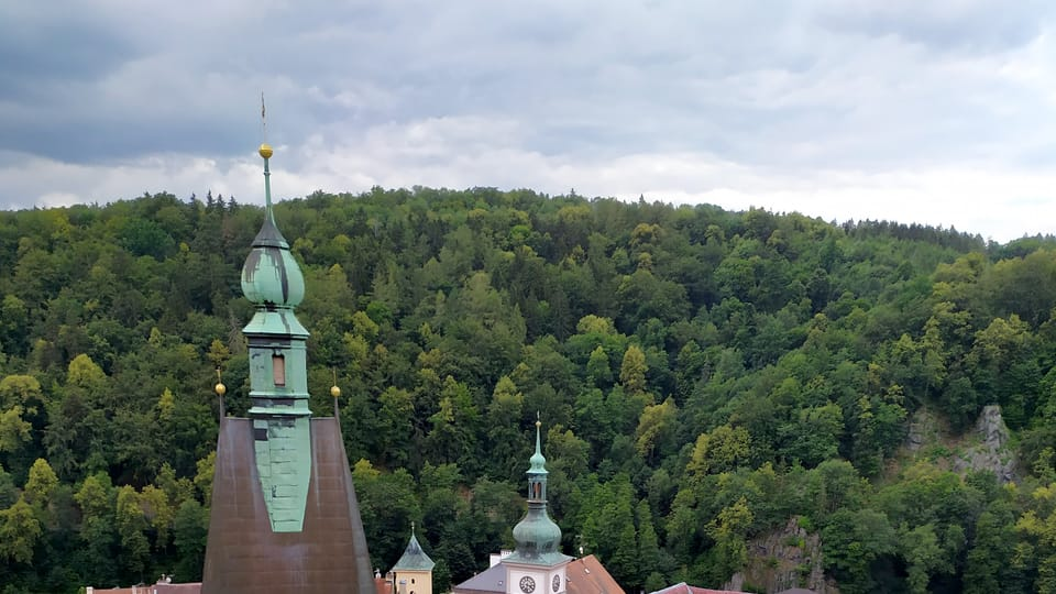 Stadt Loket / Elbogen  (Foto: Magdalena Hrozínková)