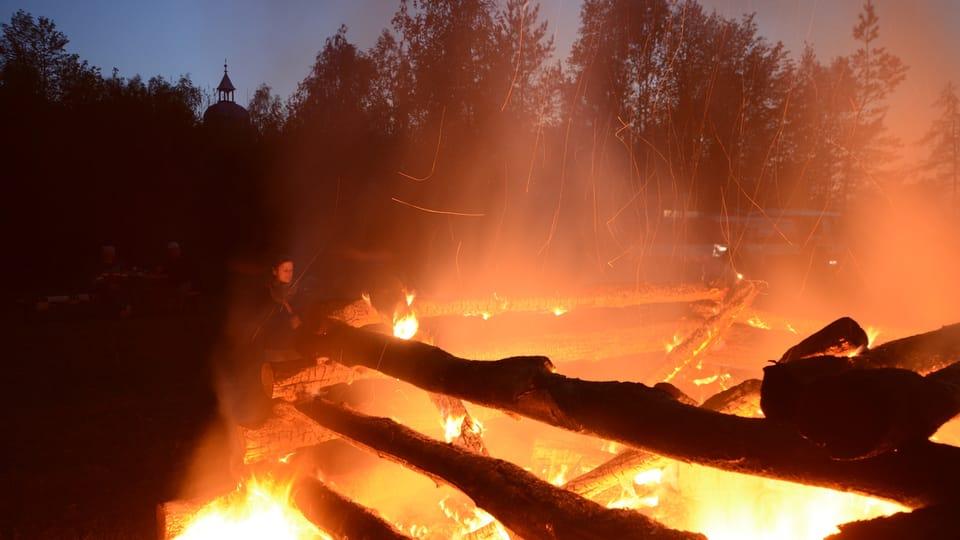Walpurgisnacht im Dorf Liběchov  (Foto: Eva Turečková)