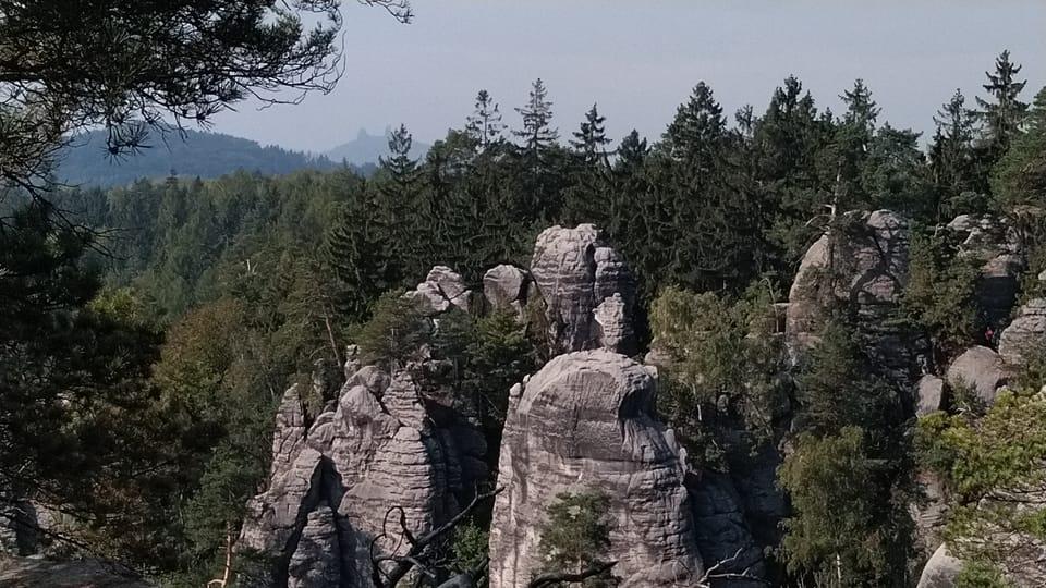Prachauer Felsen - Aussichtspunkt des Friedens  (Foto: Dominika Bernáthová)