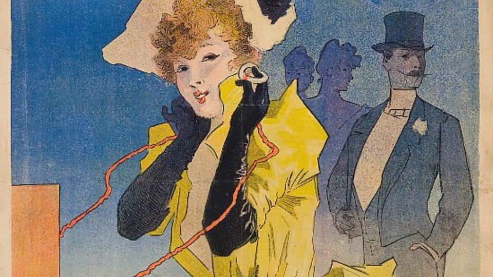 Jules Chéret: Théâtrophone  (Foto: Archiv des Kunstgewerbemuseums Prag)