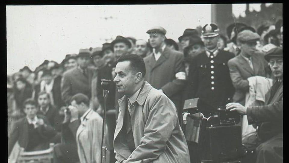 Josef Laufer gegen 1935 | Foto: Nationalmuseum in Prag,  eSbírky,  CC BY 4.0