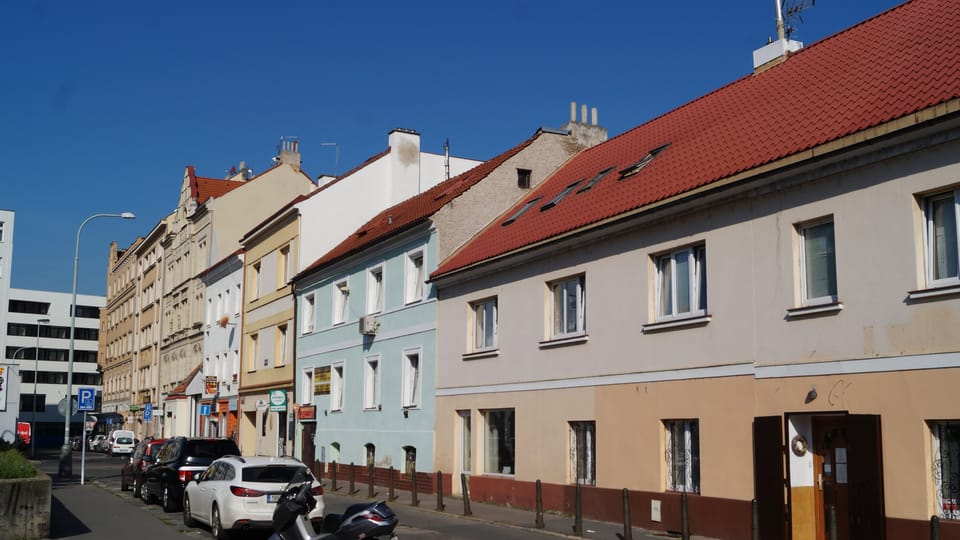 Straße Na Hrázi,  wo der Schriftsteller Bohumil Hrabal lange Jahre lebte   Foto:  Radio Prague International