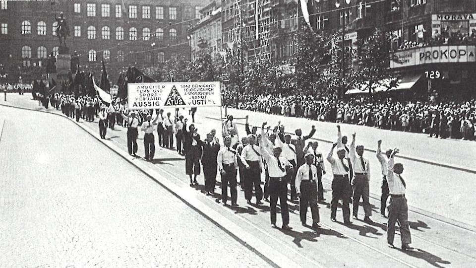 ATUS Arbeiterolympiade Prag 1934  (Foto: Archiv der Seliger-Gemeinde)