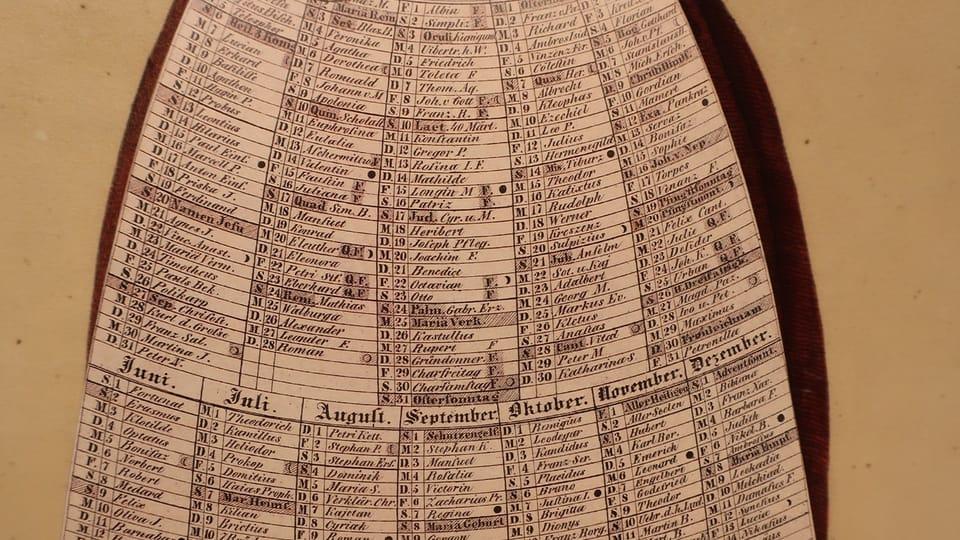 Wandkalender der Prager Stubenmädchen  (Foto: Martina Schneibergová)