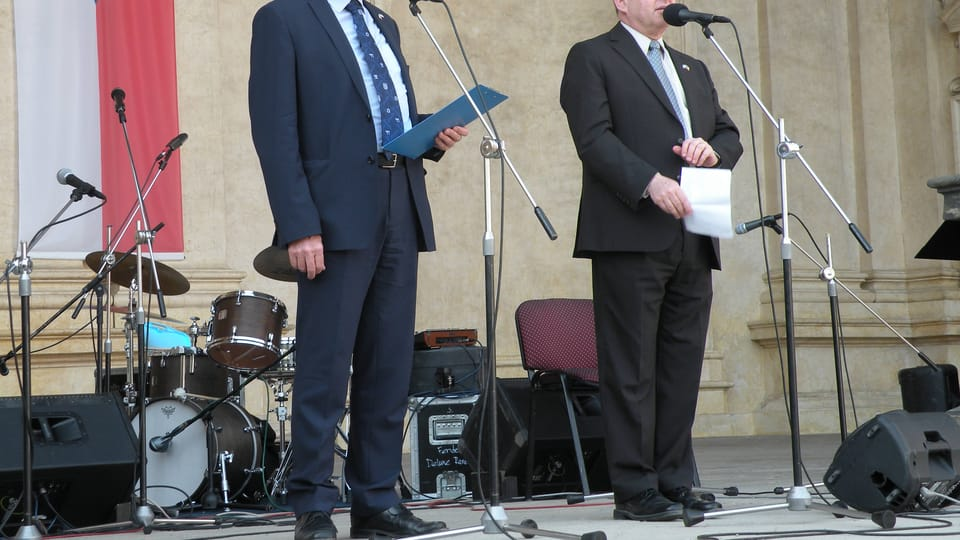 Mojmír Kallus und Daniel Meron  (Foto: Martina Schneibergová)