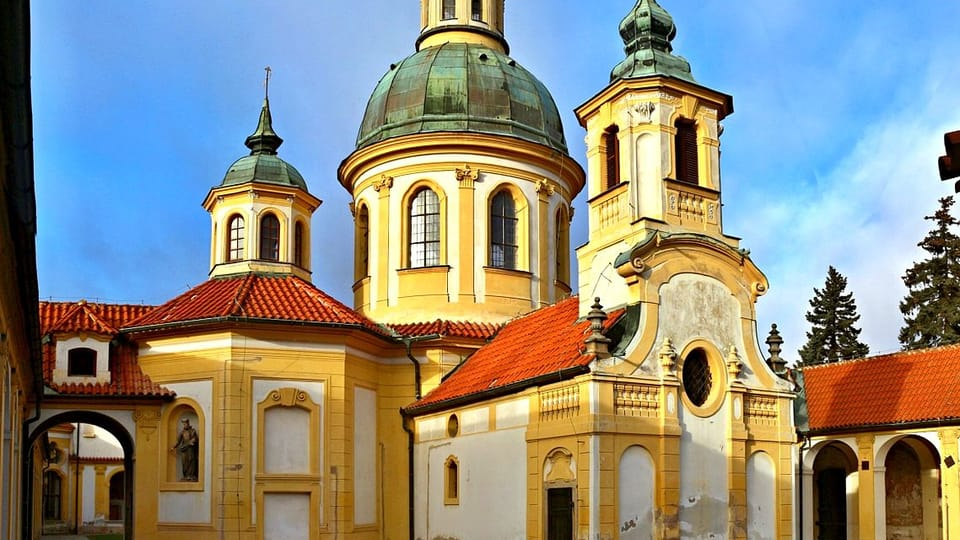 Wallfahrtkirche Maria vom Siege am Weißen Berg in Prag  (Foto: VitVit,  CC BY-SA 4.0)