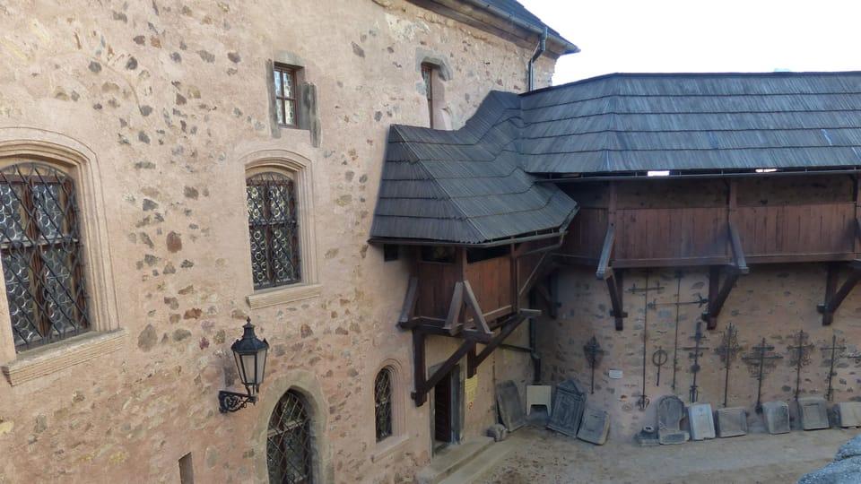 Burg Loket  (Foto: Magdalena Hrozínková)