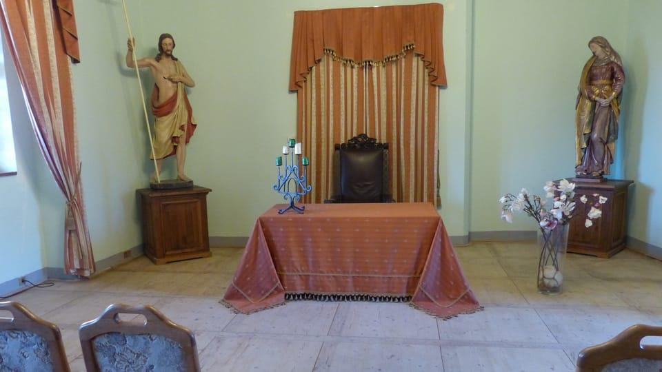 Zeremoniensaal der Burg Loket  (Foto: Klára Stejskalová)