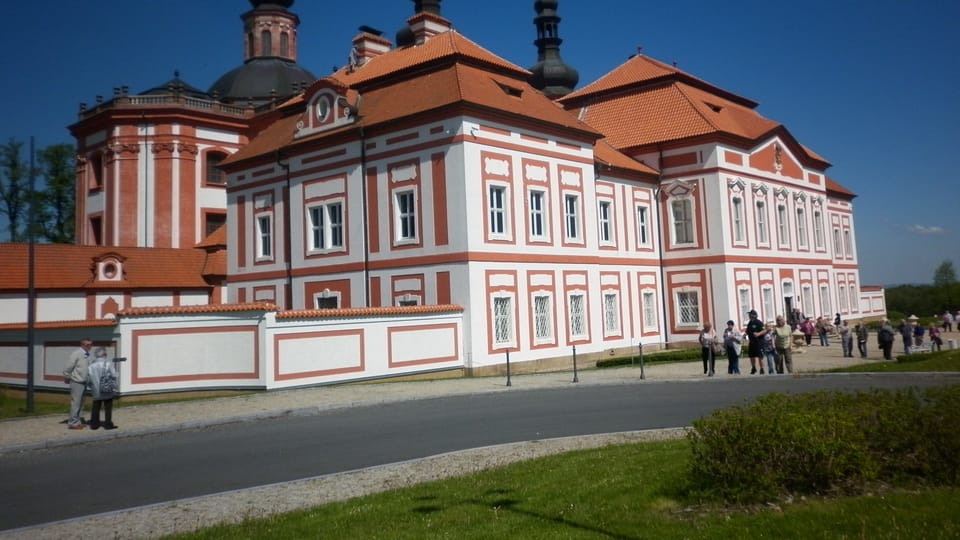 Wallfahrtsort Mariánská Týnice / Maria Teinitz mit der Kirche Mariä Verkündigung  (Foto: Zdeňka Kuchyňová)