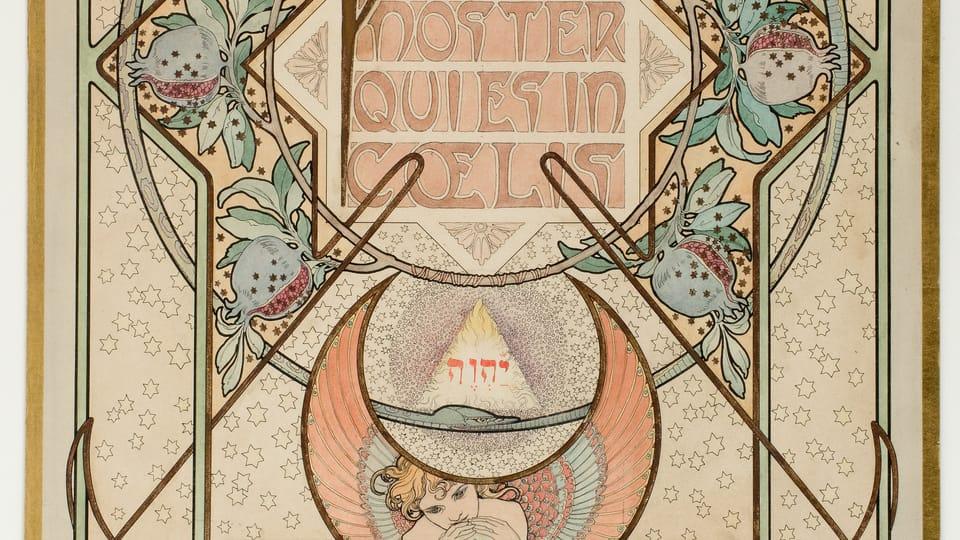 Alfons Mucha: Komposition zum Vaterunser  (Foto: Archiv des Kunstgewerbemuseums Prag)