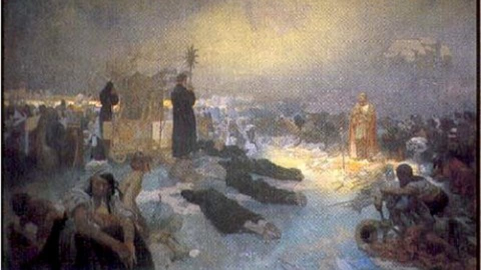 Nach der Schlacht am Vítkov 1420