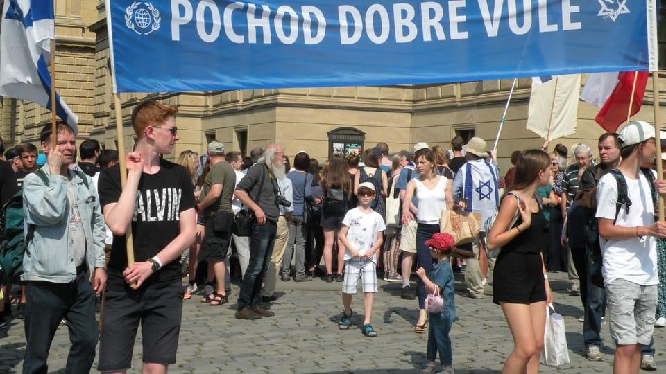 """""""Marsch des guten Willens""""  (Foto: Martina Schneibergová)"""