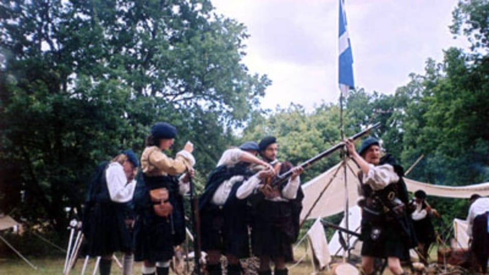 'Schottische Spiele' - Lager der Jakobiten