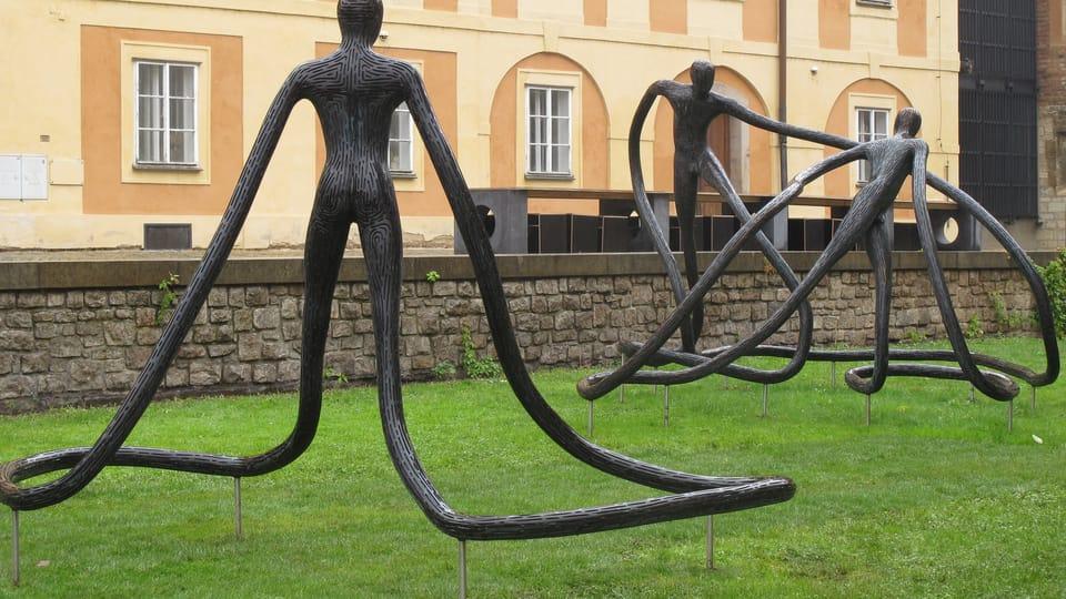 Skulptur der Tänzer von Michal Gabriel  (Foto: Martina Schneibergová)