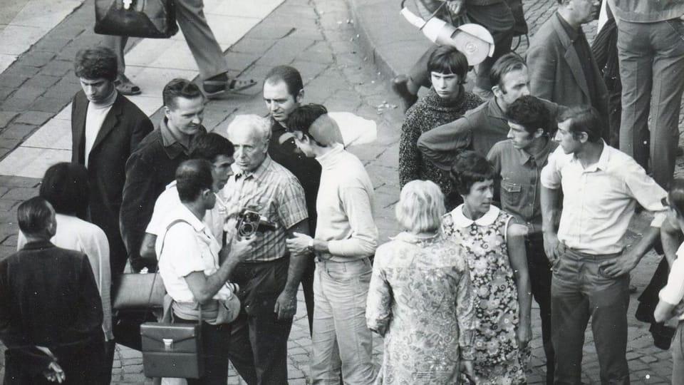 21. August 1969  (Foto: Archiv des Museums der tschechischen Polizei)