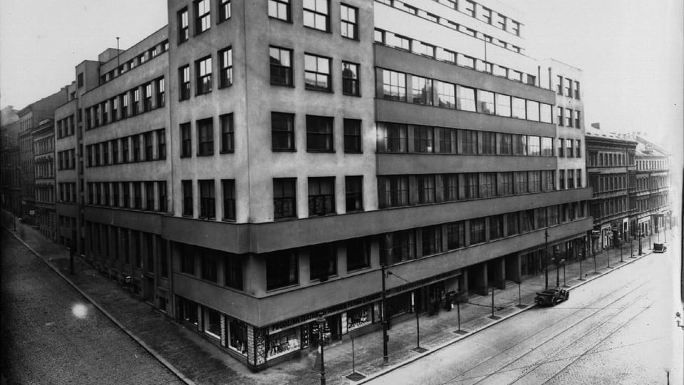 Prager Funkhaus  (Foto: Archiv des Tschechischen Rundfunks)