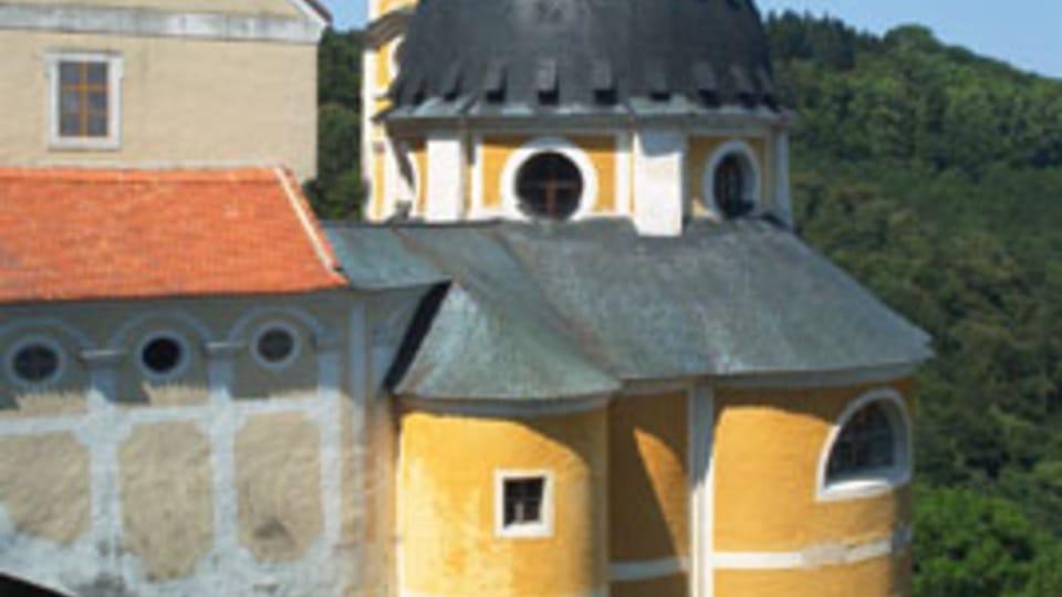 Schloss Vranov nad Dyjí / Frain an der Thaya  (Foto: Archiv des Tschechischen Rundfunks - Radio Prague International)