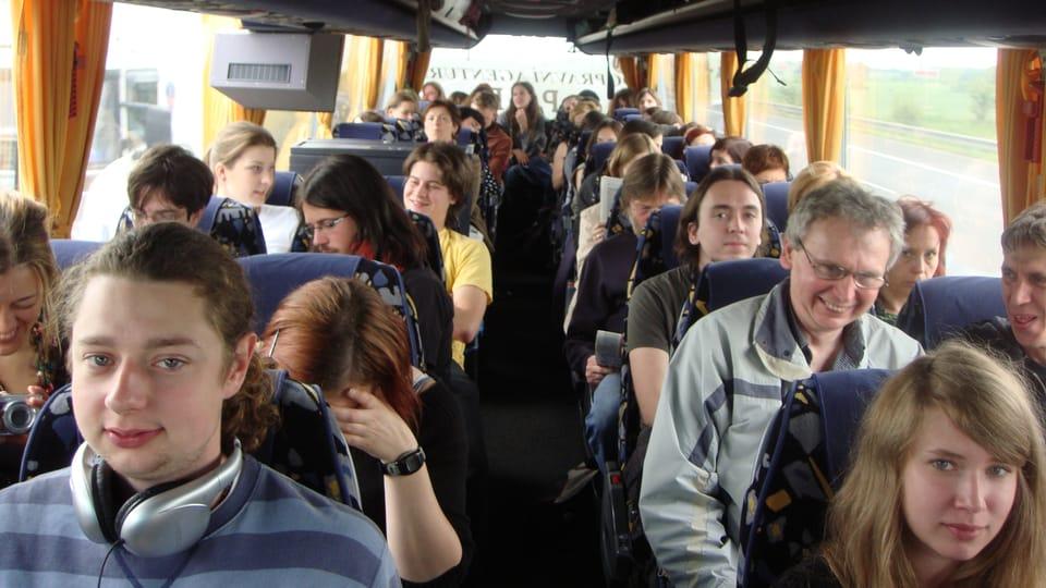 Fans der Gruppe Zrní fahren nach Berlin