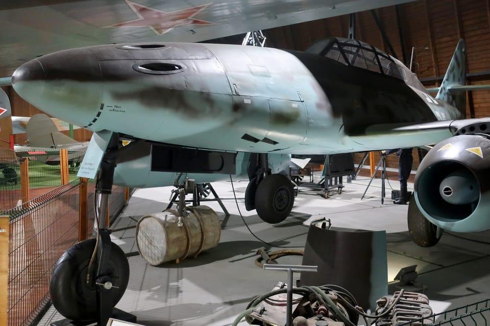 Messerschmitt Me 262 Schwalbe  (Foto: Štěpánka Budková)