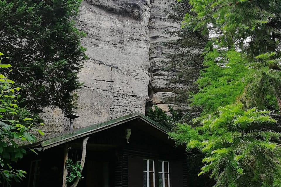 Häusergruppe Karba  (Foto: Štěpánka Budková)