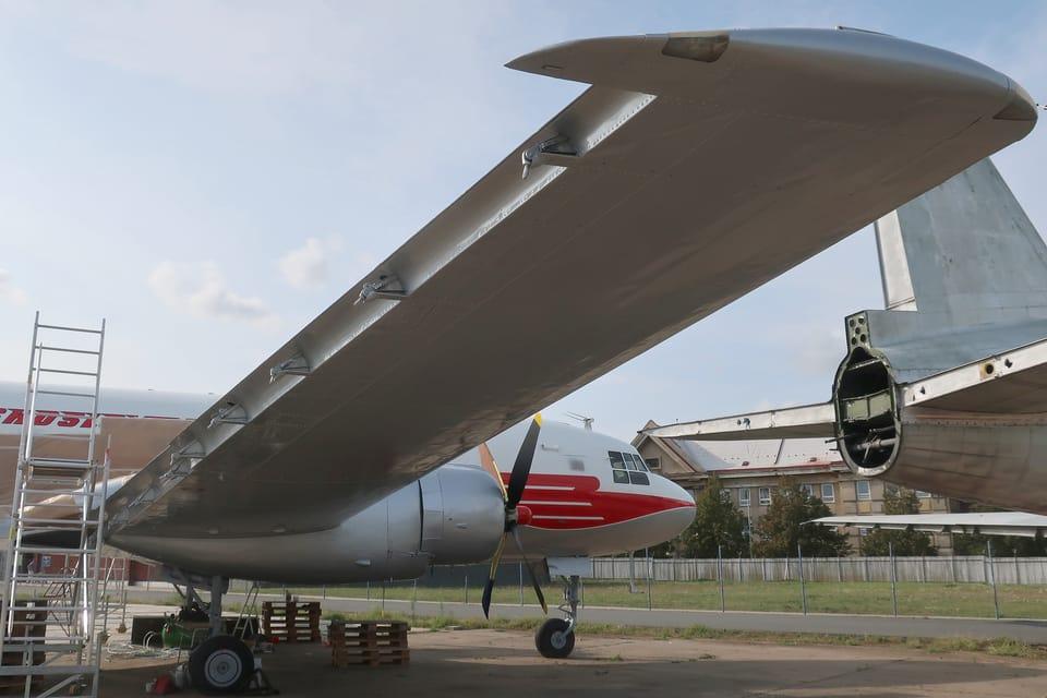 Iljuschin Il-14  (Foto: Štěpánka Budková)