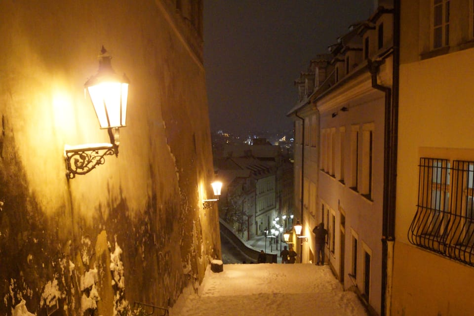 Rathaustreppe  (Foto: Archiv des Tschechischen Rundfunks - Radio Prague International)