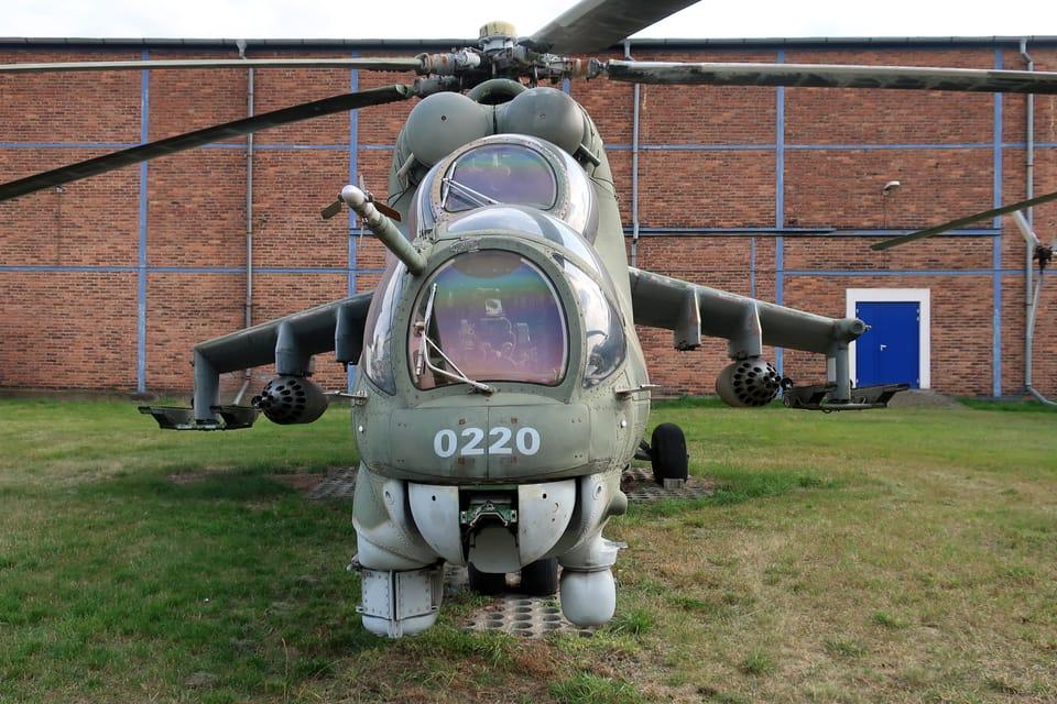 Mil Mi-24  (Foto: Štěpánka Budková)