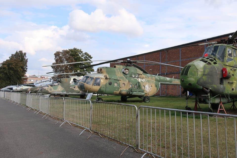 Hubschrauber  (Foto: Štěpánka Budková)