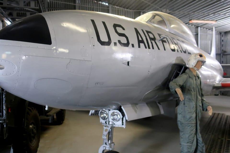 Lockheed T-33 Shooting Star  (Foto: Štěpánka Budková)