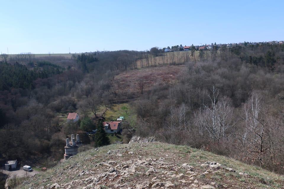 Blick vom Berg Homolka | Foto: Štěpánka Budková,  Radio Prague International