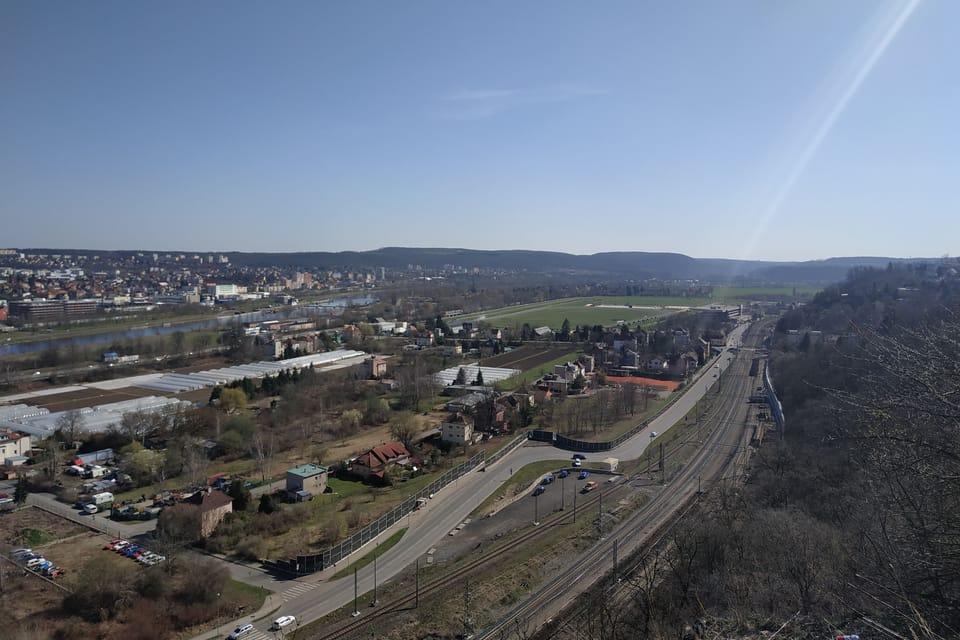Aussichtspunkt im Hain von Prag-Chuchle | Foto: Bohumil Šimčík,  Radio Prague International