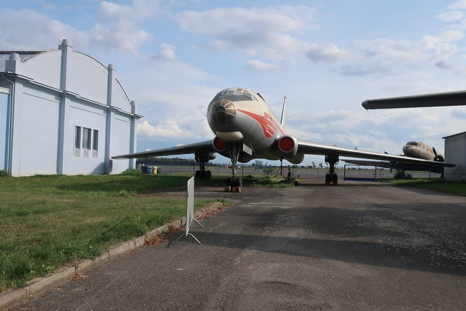 Tupolew Tu-104A  (Foto: Štěpánka Budková)