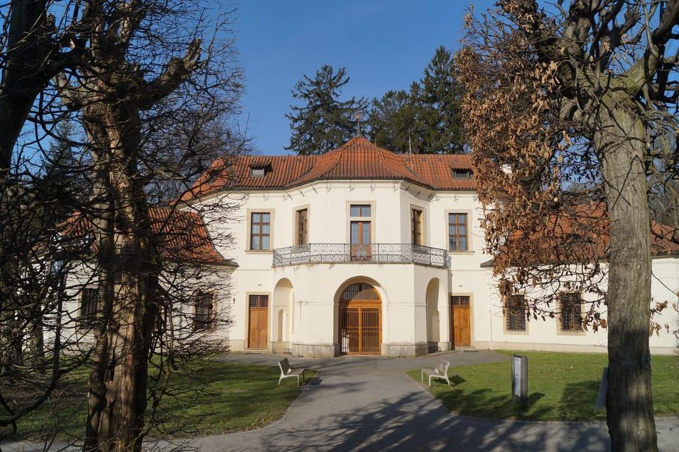 Lustschloss Vojtěška  (Foto: Archiv Radio Prague Int.)