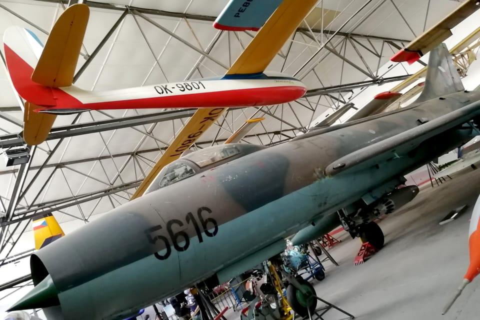 Suchoj Su-7BM  (Foto: Štěpánka Budková)
