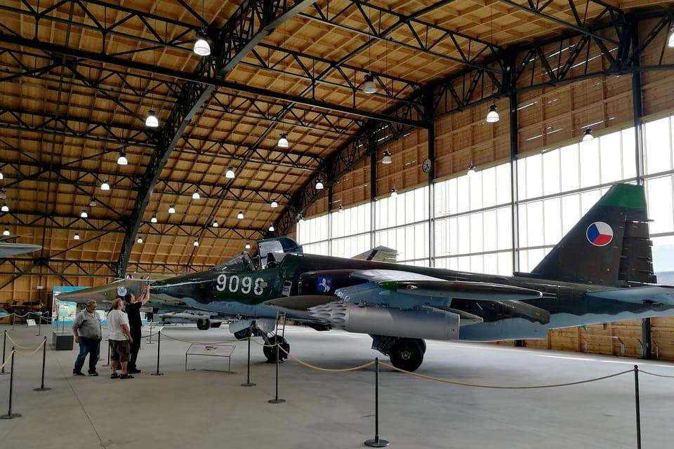Suchoj Su-25B  (Foto: Štěpánka Budková)